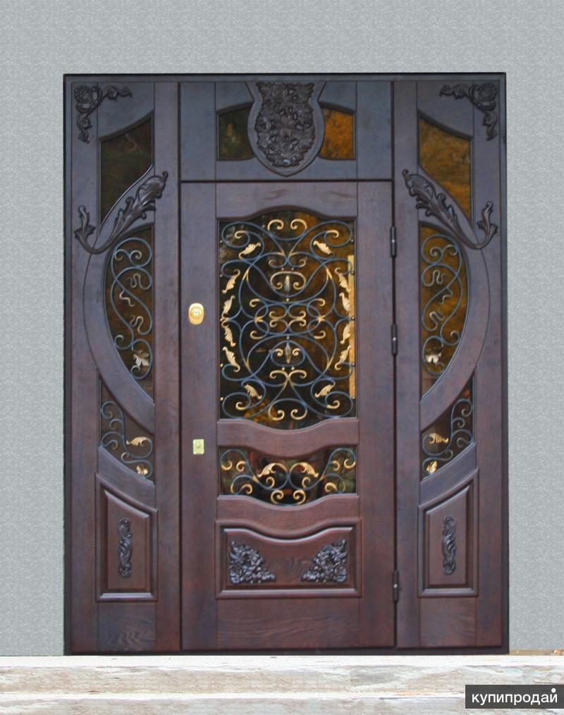 кованые элитные стальные двери