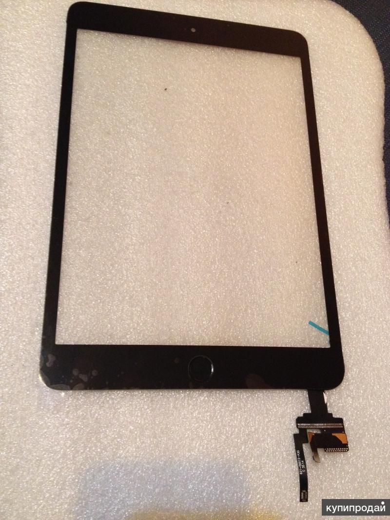 iPad mini 3 черный-тачскрин, сенс. стекло оригинал