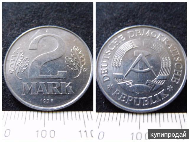 Германия, 2 марки 1975