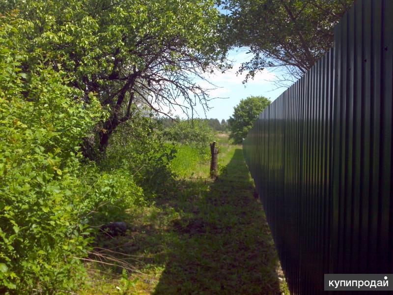 Земельный участок 3000м3 с домом 42,8 м3в заповедной зоне на берегу р.Десна