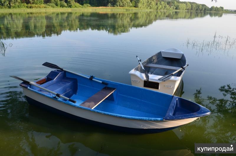 Лодка стеклопластиковая 2-х местная