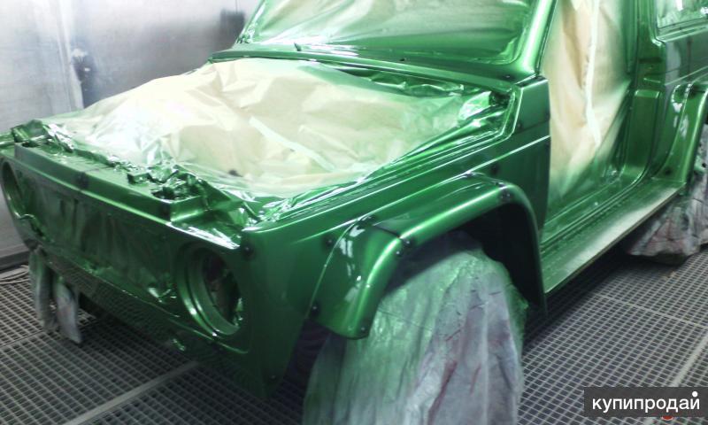 Кузовной ремонт любой сложности, покраска, цинкование