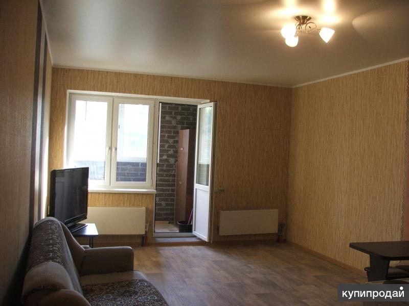 Однокомнатная квартира-студия.