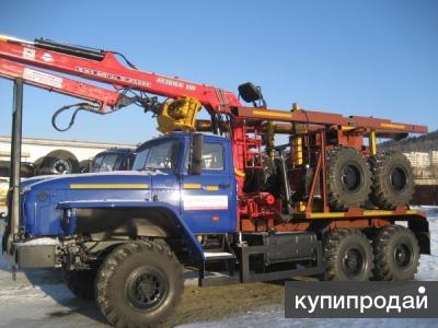 Заводские лесовозы Урал 55571-70М, 2016 г.в  пневматика от завода