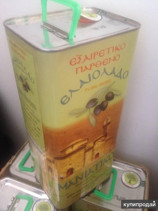 Оливковое масло первого холодного отжима (extra virgin  )Греция