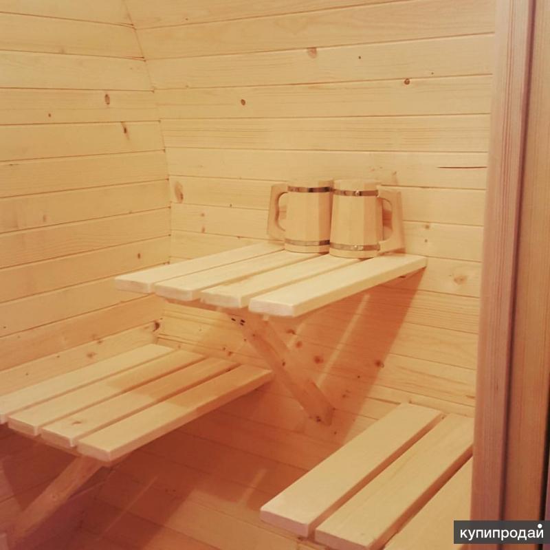 бочки бани интерьер