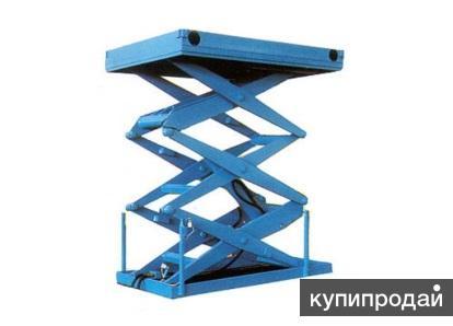 Подъемные столы для производства, складов, магазинов… Гарантия максимального сро