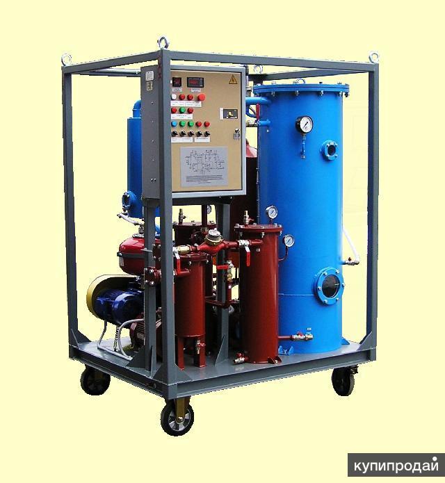 Установка УВС-4/8 У1 для термовакуумной сушки трансформаторного масла