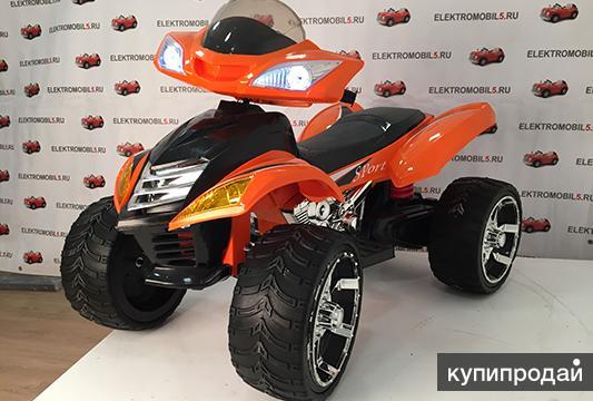 Продаем новый детский электроквадроцикл e005kx. Его характеристики таковы: Возр