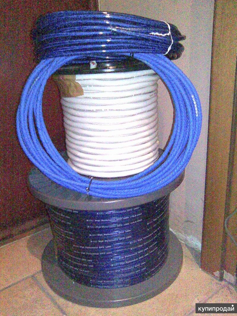 Продаю комплект профессиональных аудио кабелей