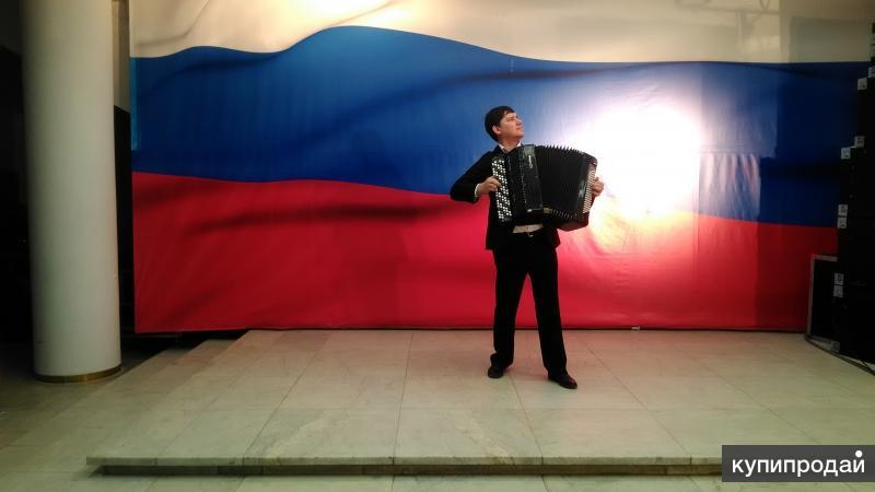 Поющий профессиональный баянист в г. Ульяновске
