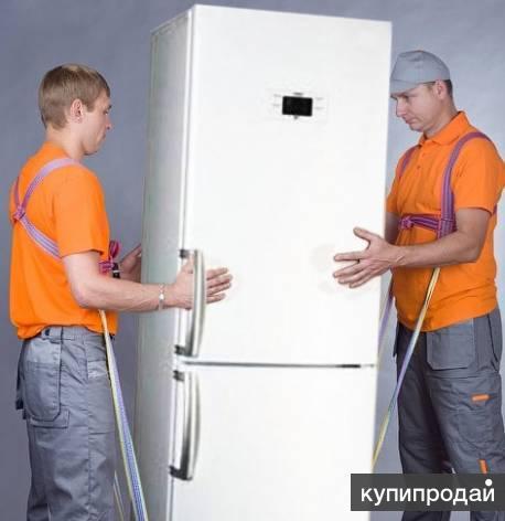 Подъем холодильника на 7 этаж