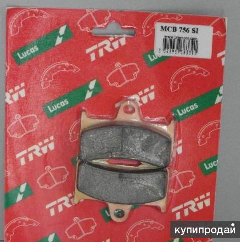 Тормозные колодки Lucas для квадроцикла YAMAHA задние MCB756SI