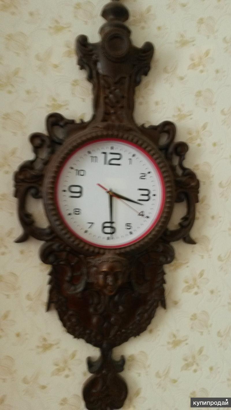 Декор резной для часов
