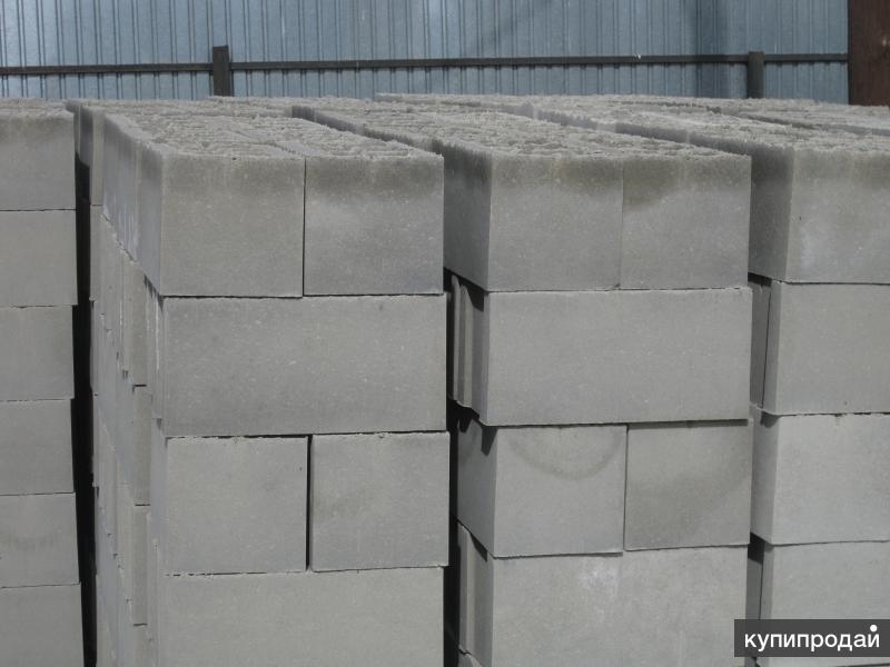 Блоки строительные( вибропрессованные)