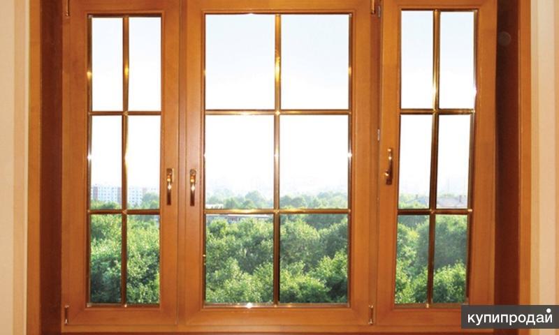 Евроокна деревянные и ПВХ окна