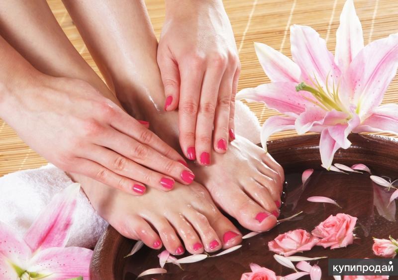 Парафинотерапия рук и ног+расслабляющая терапия