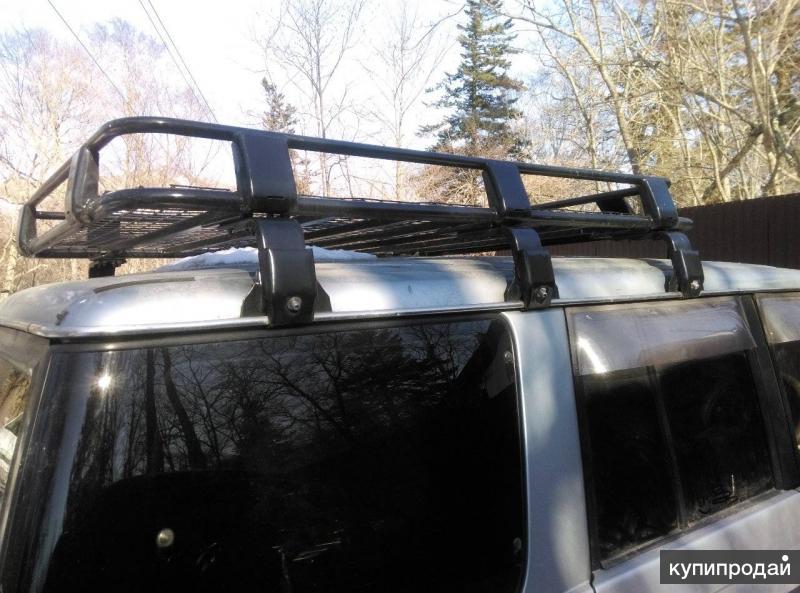 Багажник стальной экспедиционный 180 х 120 см в Новосибирске.