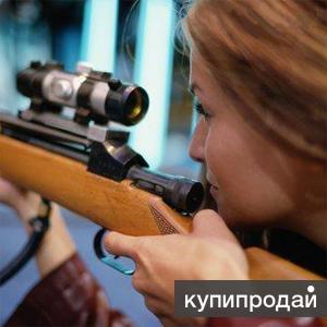 Стрельба из пневматического оружия по мишеням