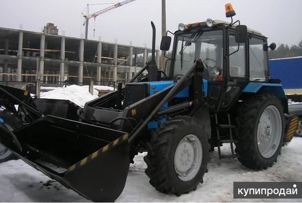 Трактор МТЗ 82.1 с навесным оборудованием