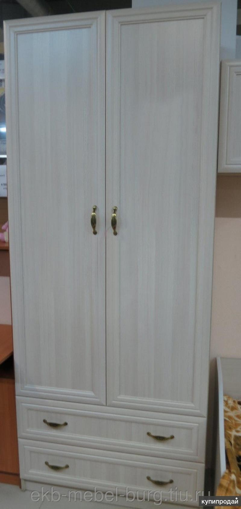 Шкаф 2-створчатый Вега ДМ-02 сосна карелия