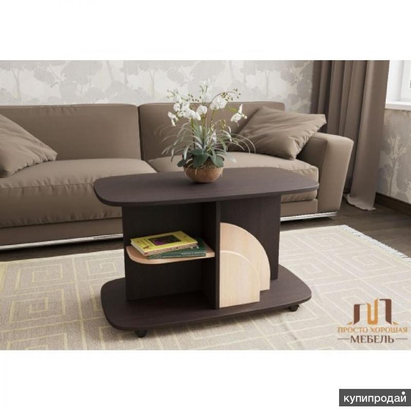 Журнальный стол № 102 Венге/Дуб