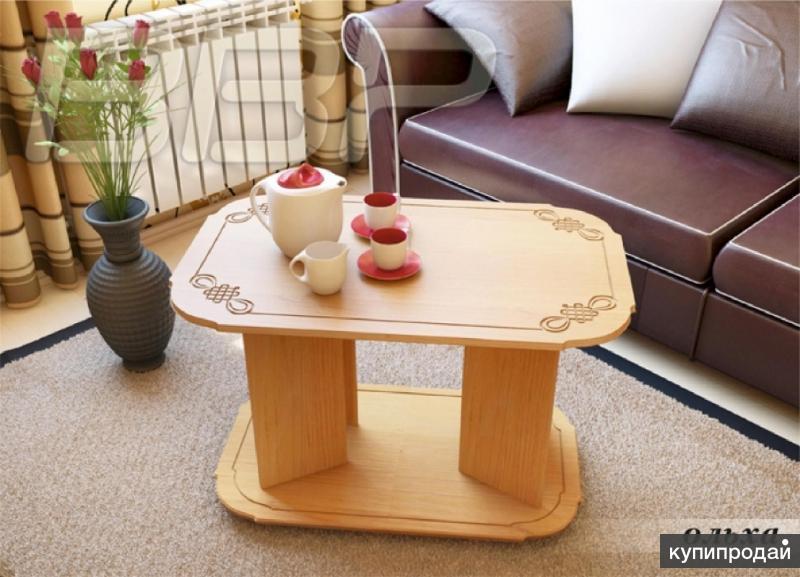 Журнальный столик Яхонт 3 Ольха