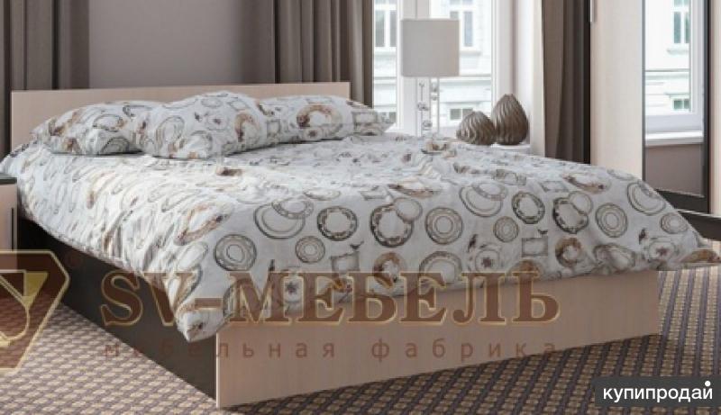 Кровать Эдем 5 на 1,4 м Венге/дуб