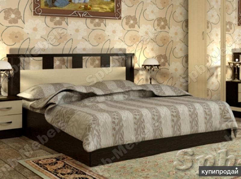 Кровать Европа на 1,6 м Венге/Белфорт