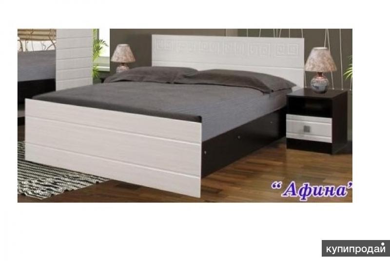 Кровать Афина на 1600 Венге/Белфорт
