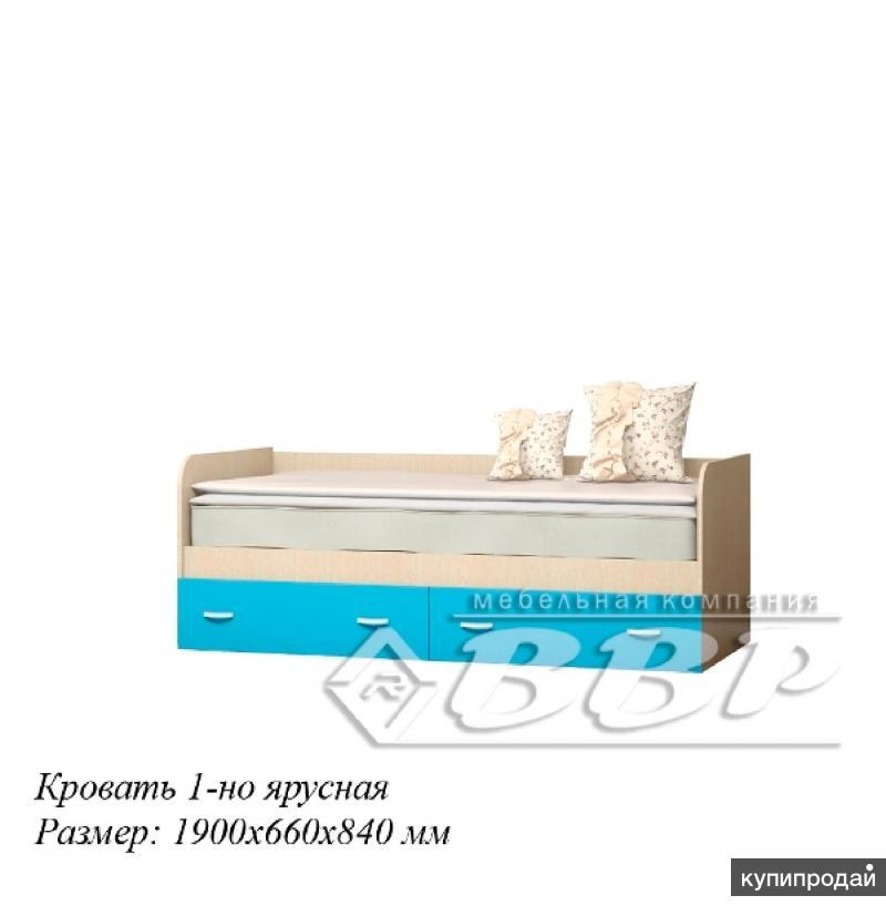 Детская кровать Беби 2 Белфорд/Салатовый