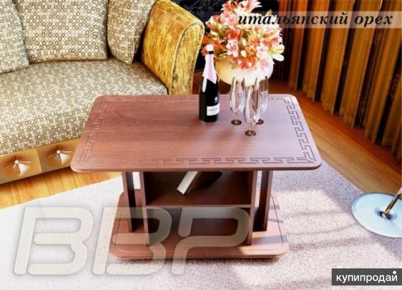 Журнальный столик Яхонт 2 Итальянский орех