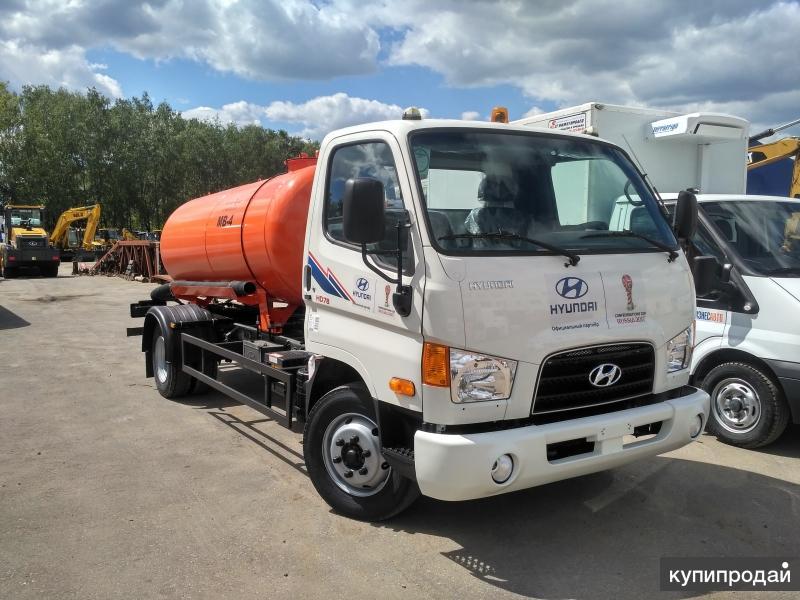 Вакуумная машина КО 522-г на шасси Hyundai HD78