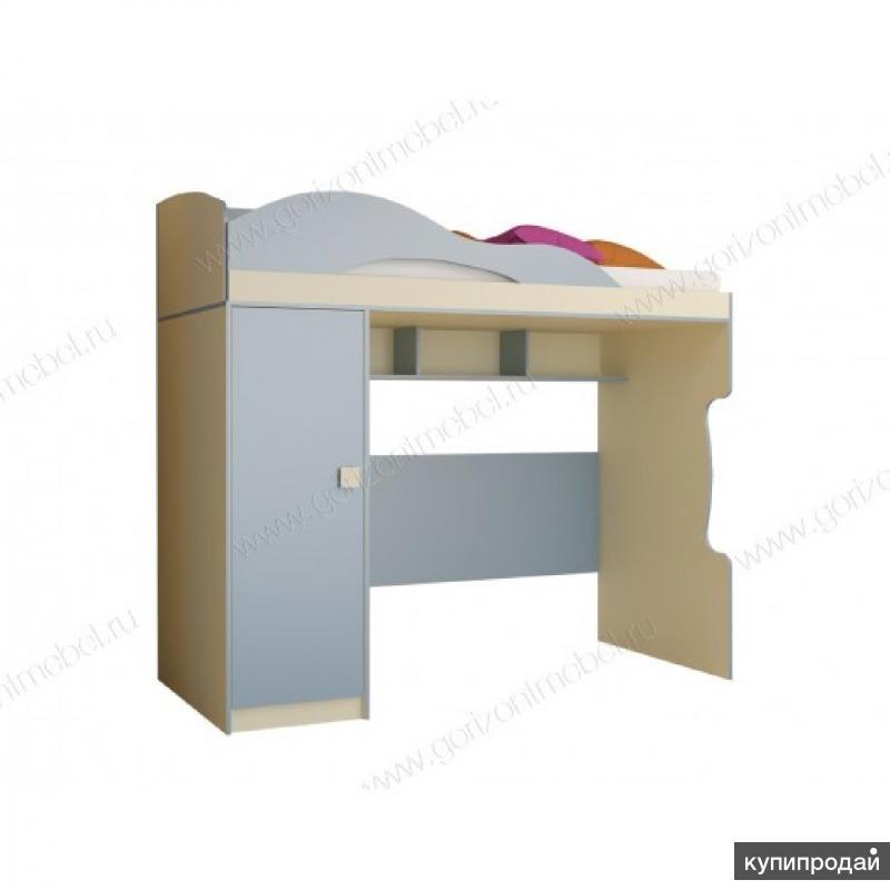 Кровать Радуга 2 этаж, пенал