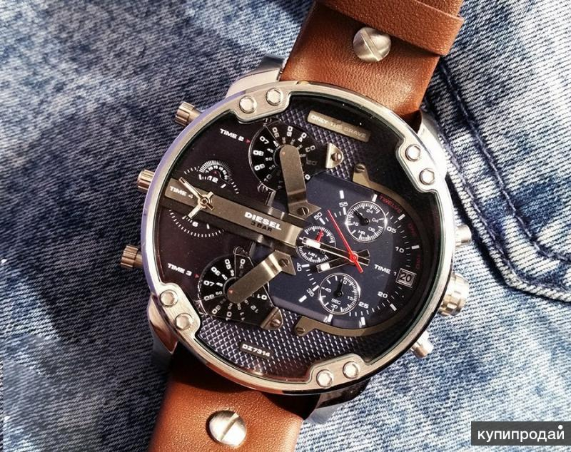 попросите продавцов-консультантов часы diesel brave оригинал напитанная кремом