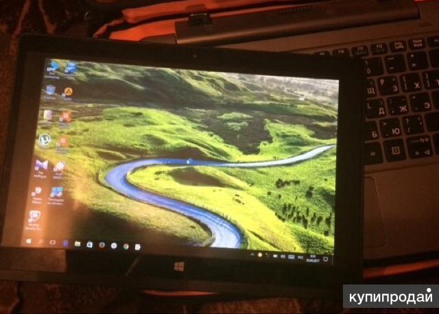 Планшет Acer Aspire One 10 + Dock500Gb 32 Гб + Dock серый