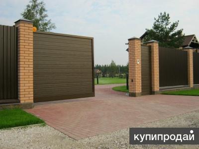 Откатные ворота в Краснодаре! Позволительная роскошь!