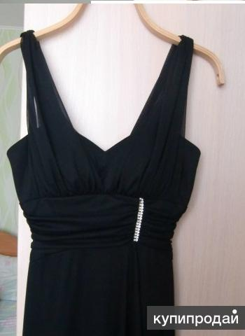 Вечернее платье в пол, размер S