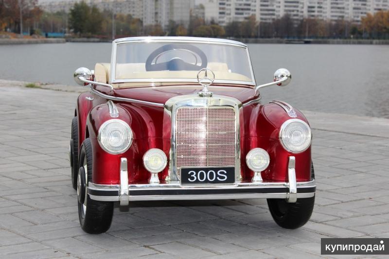Детский электромобиль MERCEDES-BENZ 300S (ЛИЦЕНЗИЯ)