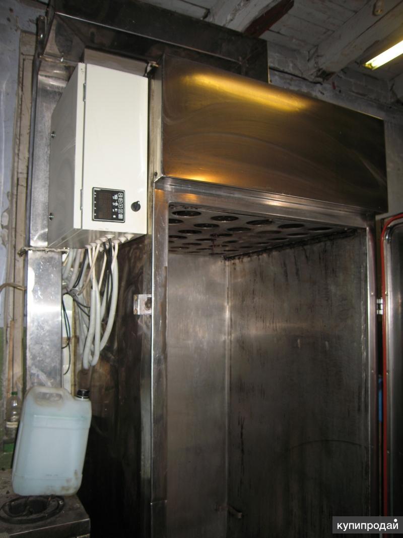 Камера коптильная термодымовая ктд предназначена для горячего и холодного копчения рыб.