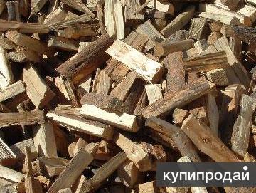 Дрова колотые смесь от заготовителя (осина, береза)