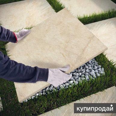 Керамогранит толщиной 20 мм для садовых дорожек