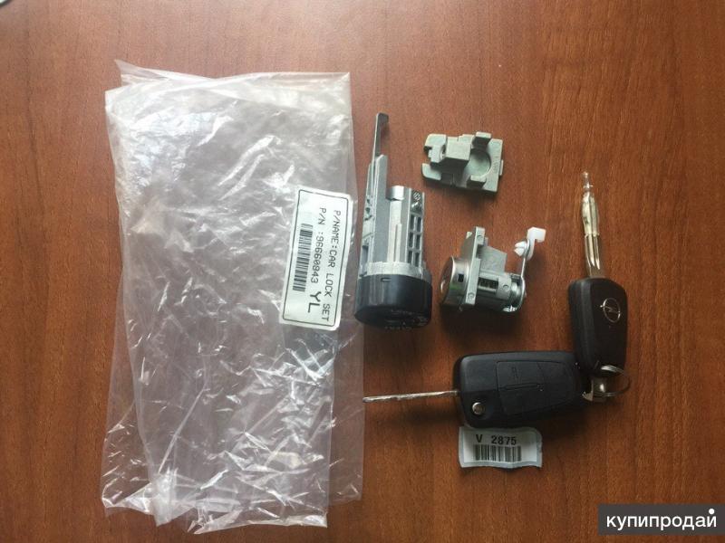 Комплект ключей зажигания OPEL, 96660843