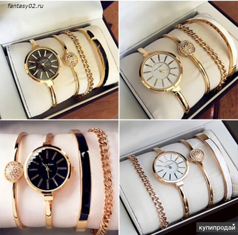 запахи женские часы anne klein с браслетами касается только