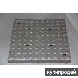 Плитка чугунная для промышленных полов
