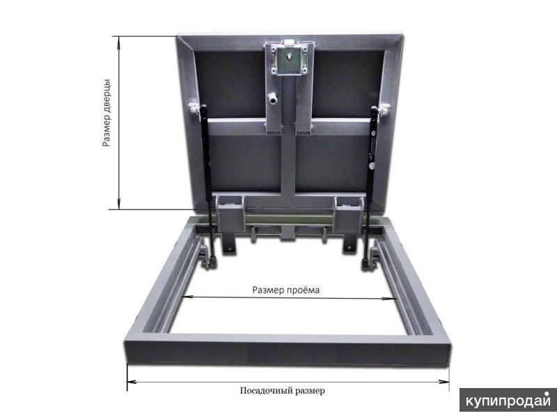 газлифт для напольного люка