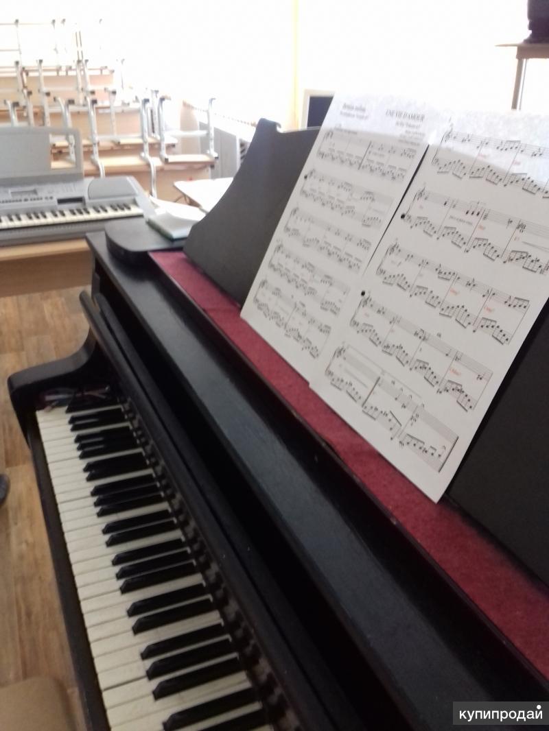 уроки вокала, хореографии, фортепиано