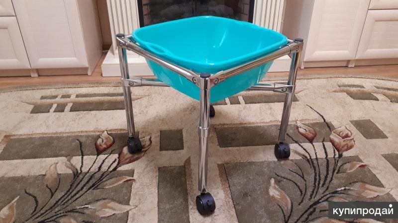 Ванночка для педикюра на колесах