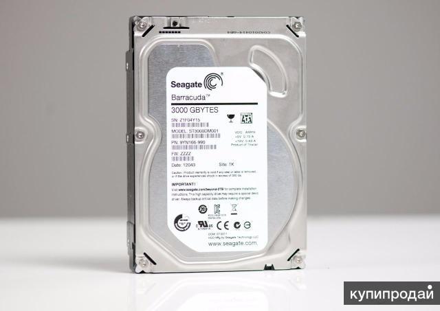 Жесткий диск HDD 3ТБ Seagate ST3000DM001