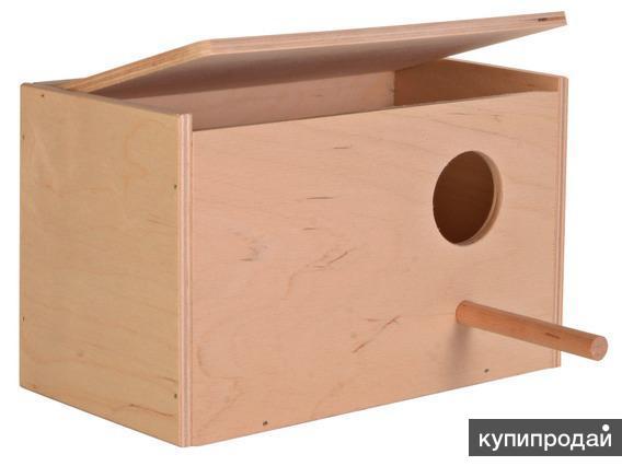домик для попугаев(скворечник)